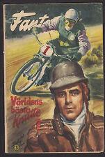 The Phantom - Fantomen - 1952 Swedish Comic Jim Nelson Knockout Charlie #22 GD