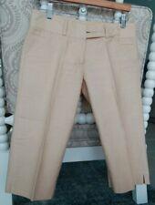 Robert Rodriguez Crop Pants Size 4 Linen
