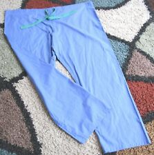 Best Medical Unisex Reversible Drawstring Scrub Pant W/ Pocket Ceil Blue Sz 2X