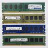 4GB DDR3 1600MHz Desktop PC RAM ~~ PC3-12800U Memory DIMM 240pin Module Non-ECC