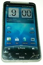 HTC Inspire 4G - 4GB - Black (AT&T) Smartphone Small Cracks in Glass