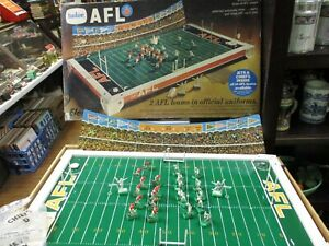 RARE 1968 Tudor AFL Electric Football Game* KANSAS CITY CHIEFS vs. Jets  * Works