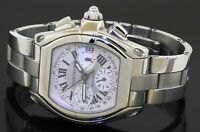 Cartier Roadster 2618 SS high fashion automatic chronograph men's watch
