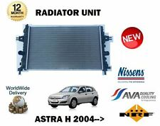 Per Vauxhall Opel Astra H 1.6 1.8 1.7 CDTI MANUALE 2004-2010 Nuovo Radiatore
