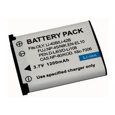 LI-40B LI-42B Camera Battery for Olympus Stylus 7040 FE-360 TG-310 LI40B LI42B