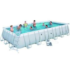 Pool Bestway Power Steel 56475 Rectangular 732X366 Cm