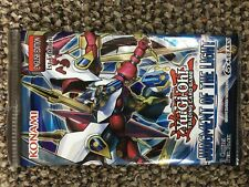 4x  .YuGiOh Judgement of the Light - Booster Pack - 1st Edition.