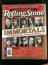 ROLLING STONE MAGAZINE OZ 642 August 2005 Special Issue Immortals 100 Greatest