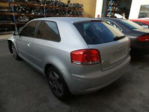 AUDI A3 2007 TAILGATE A3 8P 3DR HATCH NON SPOILERED TYPE 83828 KMS