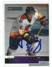 Brad Boyes Signed 1999/00 Upper Deck CHL Prospects Card #10