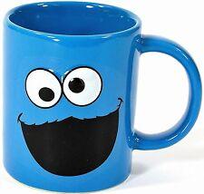 Sesamstrasse Tasse Krümelmonster Kaffeetasse Cookie Monster Mug Sesamstraße