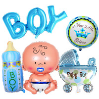 5Pcs Girl Baby Shower Foil Helium Balloons Childs Birthday Party Lovely Decor