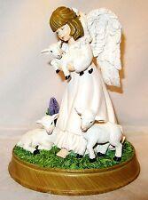 2009 Bradford Exchange ANGELIC GUARDIAN Angel Figurine #2  Nature's Blessings