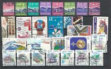 Hong kong China  Landmarks good perf variety of 27 stamps used