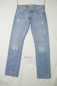 Levi's 506 Standard Déchiré D'Occassion (Cod.F2899) W32 L34 en Jeans Droit