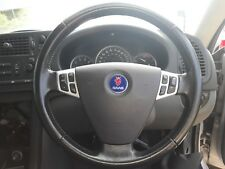 saab 9-3 aero steering wheel and airbag