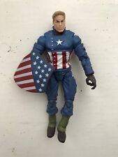 MARVEL LEGENDS SERIES Ultimate Captain America Hasbro Figure 2008 Nick Fury