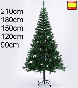 Arbol de navidad 90, 120, 150, 180, 210 cm Verde clásico SUPER OFERTA