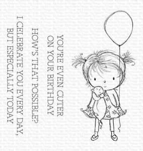 My Favorite Things - Clear Stamps - RAM Birthday Cutie