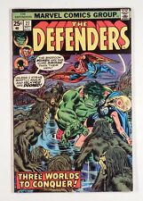 The Defenders #27 (Sep 1975, Marvel) --1st Starhawk Cameo Guardians of the Galax