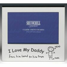 I Love My Daddy from his head to his toes Photo Frame