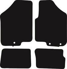 Kia Soul (2011-2014) New Black Checker Rubber Tailored Car Floor Mats