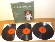 CLAUDE FRANÇOIS : VERSIONS ORIGINALES - COFFRET 3 LP France 80's - POLYGRAM