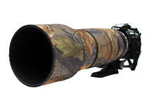 Sigma 120 300mm f2.8 OS Néoprène Lentille Protection Camouflage Housse Chêne Anglais