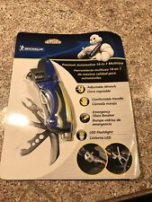 Michelin 3115 A 400-99 Premium 14-in-1 Multi-Tool (Blue and Yellow)