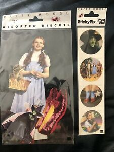Wizard of Oz Scrapbook Diecuts and Stickers - Wizard of Oz