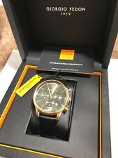 Giorgio Fedon 1919 vintage ix Gold on Black, Watch