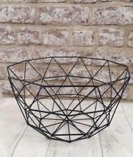 Wire Contemporary Decorative Baskets