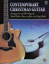 Acoustic Masterclass: Contemporary Christmas Guitar, Book & CD by David Cullen