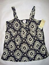 Womens Oh Baby Maternity Cotton Sleeveless Top Blouse - Size Large - NWT