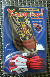 RARE USAT TRIATHLON Yankz Sure Lace System Red One Size Fits All New in Package