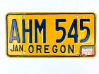 Oregon 1980 Vintage License Plate Garage Tag Man Cave Gift Wall Decor Dec Pub