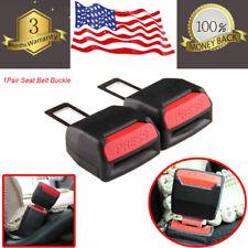 Car Front Driver Passenger Side Seat Belt Clip Press Extender Buckle Lock Safety