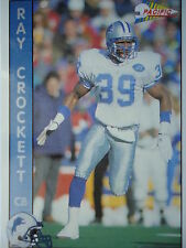 NFL 413 Ray Crockett CB Cornerback Pacific 1992
