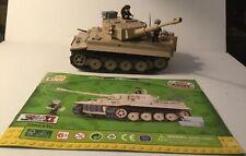 COBI SD.KFZ. 181 Tiger 131 Panzer VI Ausf. E German WWII Tank SET 2519 US SELLER