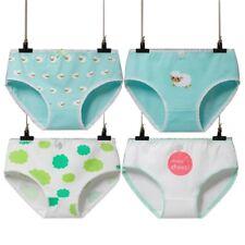 b5edf9fbdb 4Pcs Women Cartoon Sheep Print Underwear Seamless Cotton Girl Panties  Underpants