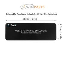 SSD to USB3.0 Hard disk Enclosure Adapter for Apple MacBook Air A1465 A1466