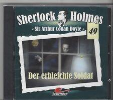 CD - SHERLOCK HOLMES - FOLGE 49 - Der Erbleichte Soldat - Neuware MARITIM