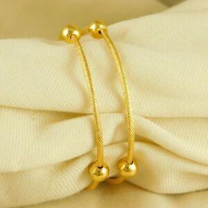 Women Trendy 22K Gold Plated Bracelets Set Ethnic Bangle Fashion Jewellery Gift
