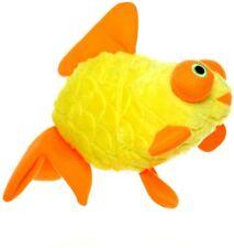 New Dog Puppy Toy Large Mighty Ocean Goldfish Fun Yellow Orange Level 8 VIP