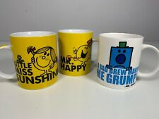 Mr. Men Little Miss Sunshine Happy Grumpy Roger Hargreaves Mug