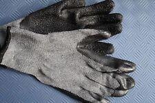 5 Paar Arbeitshandschuhe Gr. 9 Baumwolle / Latex Gartenhandschuhe Handschuhe