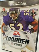 Madden NFL 2005 (Nintendo GameCube, 2004)(Complete)(Tested)