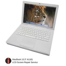 "Apple MacBook 13.3"" A1181 Cracked Broken Damaged LCD Screen Repair Service"