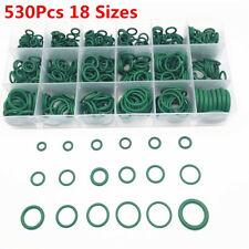 Boxed Mixed 530Pcs Car Air Conditioning O-ring Seal A/C Gaskets Green Universal