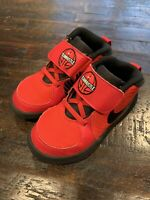 Nike Team Hustle D9 Sneakers Size 9C Toddler Red AQ4226-600
